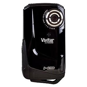 "Vivitar DVR 695HD Waterproof HD 720p Digital Camcorder - Black (12 MP, 4x Digital Zoom, 2"" LCD) from Cmcorder by VIVITAR - Black"