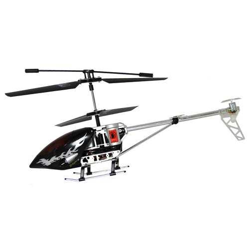 R/C Remote Control Air Discovery Helicopter Metal With Gyro. Colour may vary