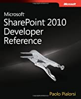 Microsoft SharePoint 2010 Developer Reference Front Cover