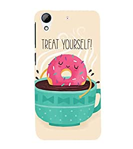EPICCASE Treat yourself Mobile Back Case Cover For HTC Desire 728 (Designer Case)