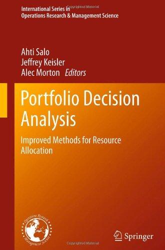 Portfolio Decision Analysis: Improved Methods