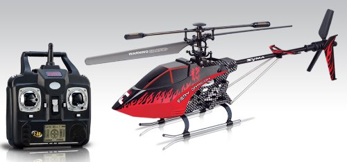 Syma F1 Armor New Model – 3.5CH Single-Blade 2.4G RC Helicopter- Red-Black