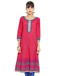 LOVELY LADY Ladies Cotton Solid KURTI - B00ZCBKUVQ