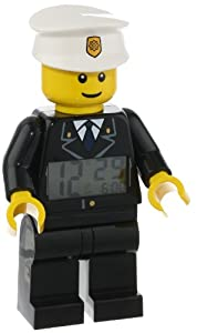 LEGO Unisex 9002274 Classic Policeman Mini-Figure Alarm Clock