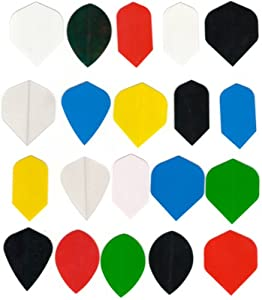 Buy 20 sets dart flights Assorted size slim, wide, kite, tear drop, vortex etc. wholesale price INCLUDES 1 SET OF TUF-FLITE... by Dart Brokers