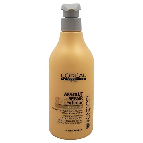 Serie Expert Absolut Repair Cellular Shampoo by L'Oreal Professional for Unisex - 16.9 oz Shampoo (Italian Professional Shampoo compare prices)