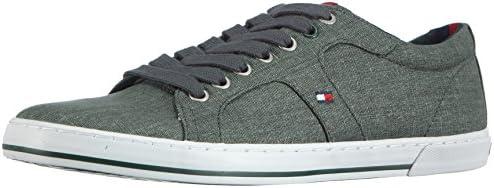 Tommy Hilfiger Harry 9E, Chaussons Sneaker Homme - Vert (Juniper 403), 41 EU