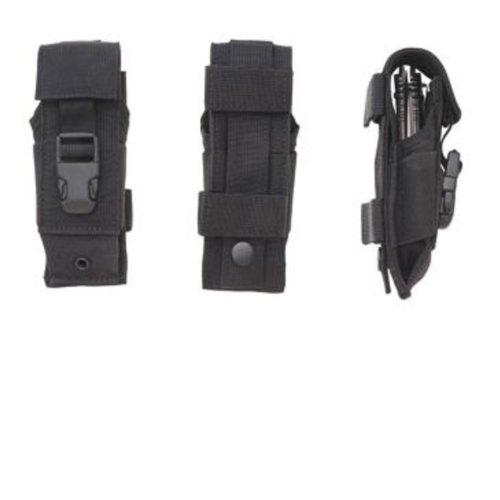 TIMBERLINE 20020 Nylon Sheath Dual Carry/Molle Strap Knife Bag, Black