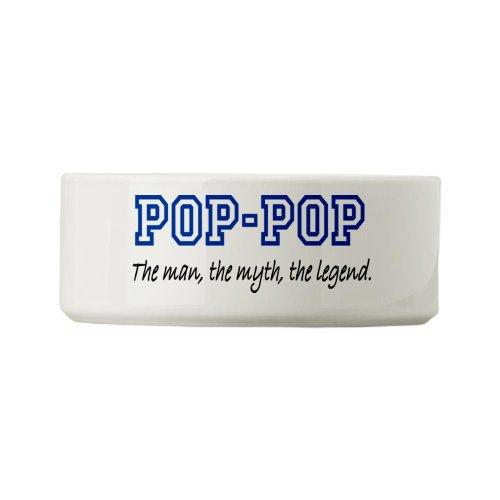 Cafepress Pop-Pop Small Pet Bowl [Misc.]