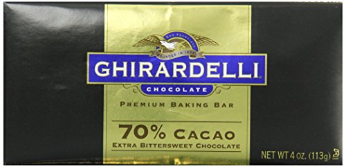 Ghirardelli Chocolate Baking Bar, Extra Bittersweet Chocolate, 4 oz., 6 Count (Ghirardelli Bar compare prices)