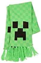 Minecraft CREEPER Green Acrylic Knit SCARF