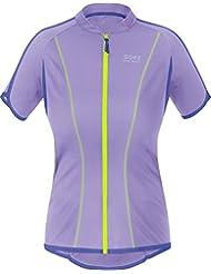 GORE BIKE WEAR Women's Short Sleeve Countdown 3.0 Full Zip Lady Jersey, SCOUNF