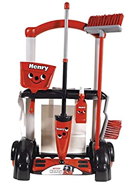 2x Casdon 630 Henry Cleaning Trolley