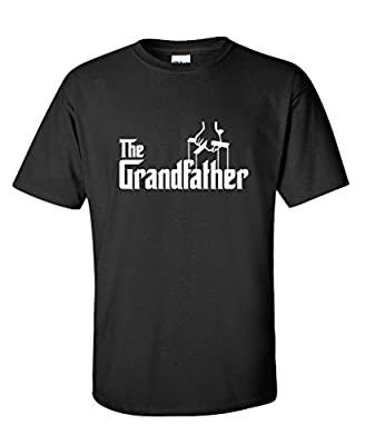 The Grandfather Fathers Day Gift for Grandpa Mens Funny T SHIRT