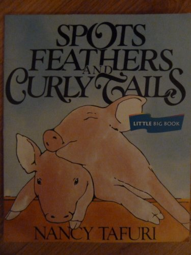 Spots Feather, Read Little Big Book Level K: Houghton Mifflin Invitations to Literature (Invitations to Lit 1996)
