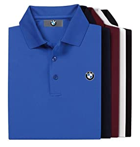 Bmw Genuine Logo Men 39 S Tech Polo Shirt Blue