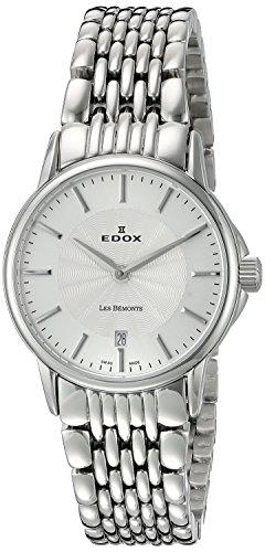 EDOX - 57001 3M AIM - Montre Femme - Quartz - Analogique - Bracelet Acier Inoxydable Argent