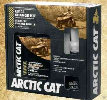 Thundercat  on New Genuine Arctic Cat Atv Accessories   Synthetic Oil Change Kit