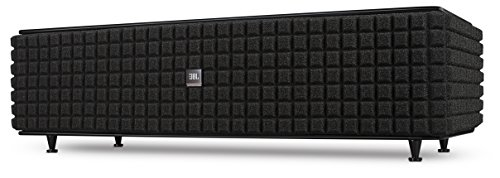 JBL Authentics L8 - Sistema de altavoces domestico dispositivos iOS y Android (2-vías, Bluetooth, NFC, WiFi, AirPlay, Spotify Connect), color negro