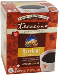 Teeccino Herbal Coffee - Hazelnut 10 Bag(S)