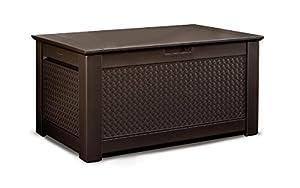 Amazon Com Rubbermaid 1859930 Outdoor Deck Box Storage