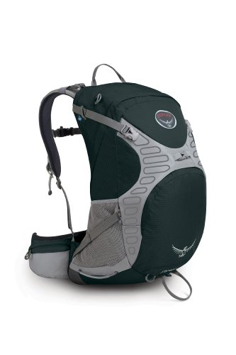 B002N4P8D0 Osprey Stratos 34 Backpack, Shale Black, Medium