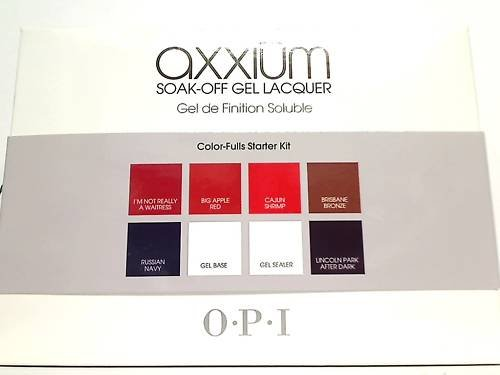 OPI AXXIUM Color-Fulls Starter Kit AX501