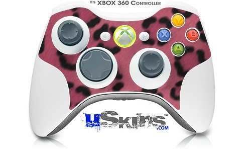 все цены на  XBOX 360 Wireless Controller Decal Style Skin - Leopard Skin Pink - CONTROLLER NOT INCLUDED (OEM Packaging)  онлайн