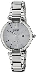 Seiko Dress Analog White Dial Womens Watch - SUT153P1