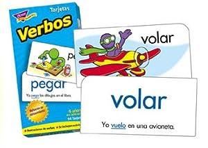 Trend Enterprises Verbos Skill Drill Flash Cards
