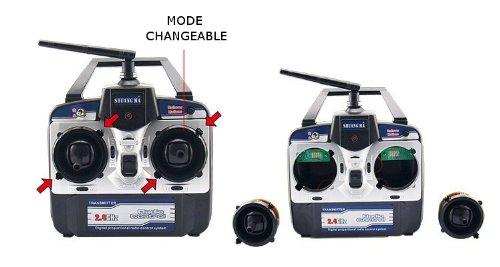 Imagen de Quad Copter 2,4 GHz de 4 canales eje X helicóptero RC Gyro Mini Escarabajo 9128