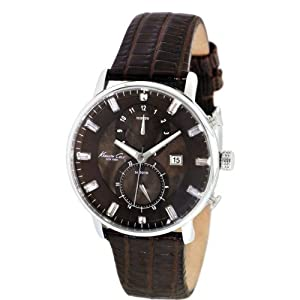 Kenneth Cole New York Men's KC2709 Classic Multi Function Brown Dial Watch