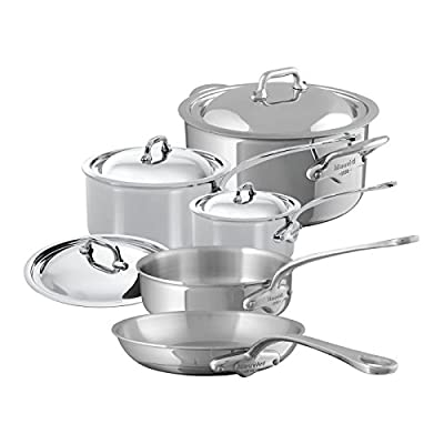 Mauviel M'Cook - 9 Piece Set - (5210.15, 5210.19, 5213.26, 5211.25, 5231.25)