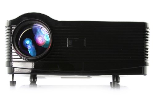 5.8?TFT LCD 3000 lumens 2000:1 contrast 3D LED projector with DVB-T