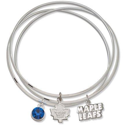 Toronto Maple Leafs Triple Bangle Bracelet