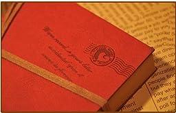 EvZ Retro Vintage Journal Notepad String Key Classic Leather Bound Notebook Dark Coffee