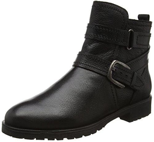 LotusKalei - Stivaletti donna , Nero (Black (Blk Leather)), 42