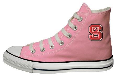 Converse Chuck Taylor All Star Hi Top Pink North Carolina State University Logo Canvas - Buy Converse Chuck Taylor All Star Hi Top Pink North Carolina State University Logo Canvas - Purchase Converse Chuck Taylor All Star Hi Top Pink North Carolina State University Logo Canvas (Converse, Apparel, Departments, Shoes, Women's Shoes)