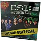 CSI: Crime Scene Investigation The Board Game ENCORE EDITION