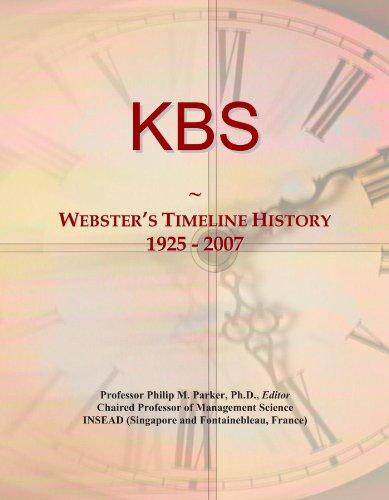 kbs-websters-timeline-history-1925-2007