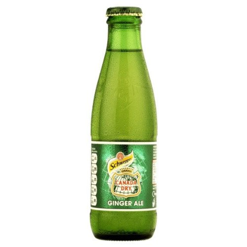 Schweppes Canada Dry Ginger Ale (24 x 125ml)