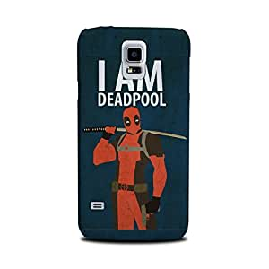Samsung Galaxy S5 Designer Printed Covers (Samsung Galaxy S5 Back Cover) - Superhero Deadpool