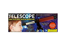 Bulk Buys OL171-3 Compact Telescope with Tabletop Tripod44; 3 Piece