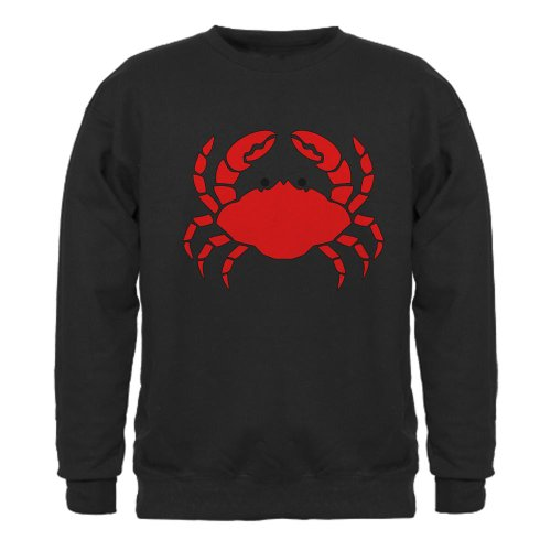 Crab Sweatshirt dark by CafePress - L Black