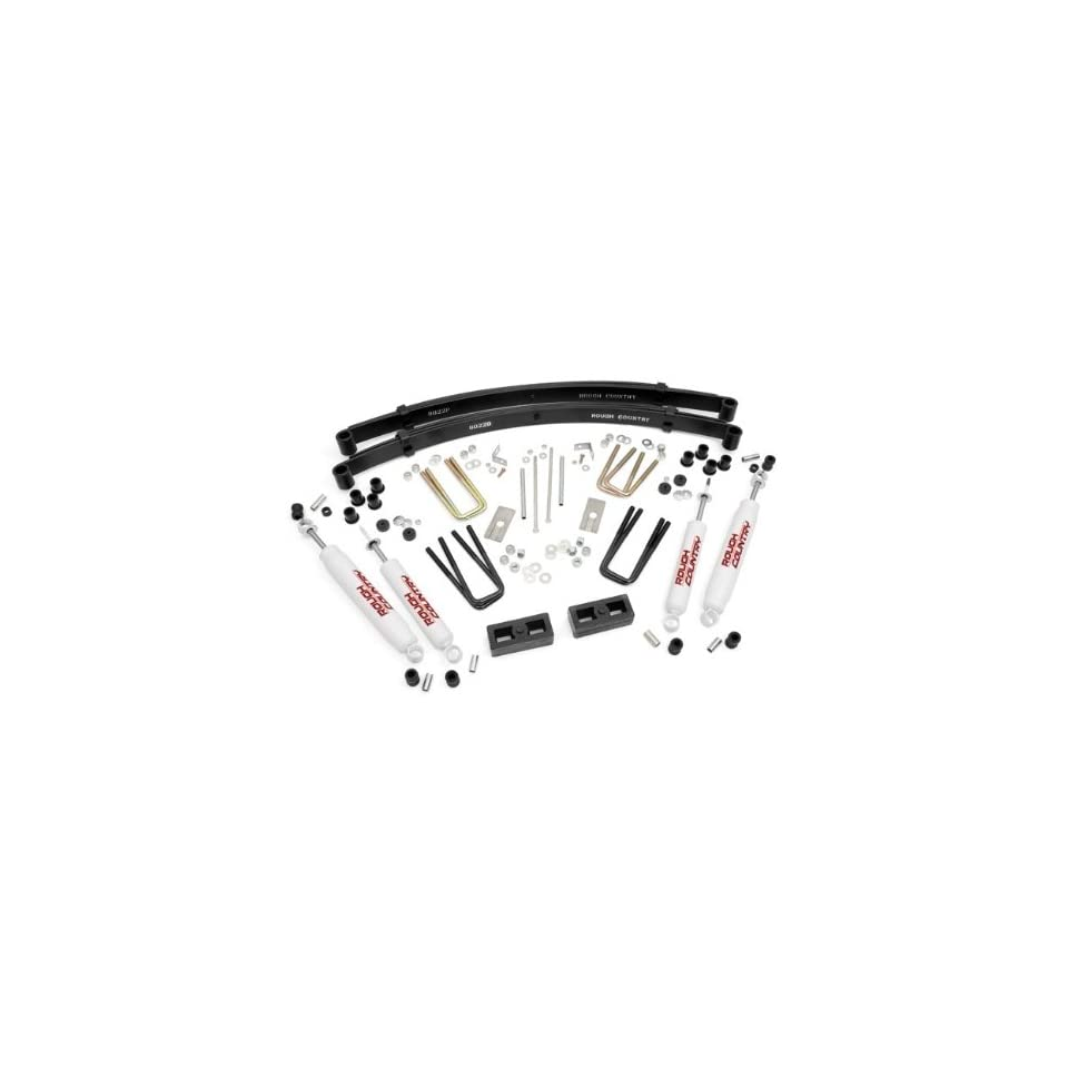 Rough Country   705.20   3 inch Suspension Lift Kit w/ Premium N2.0 Shocks