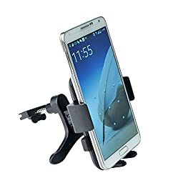 Car Mount, GFKing® Air Vent Universal Smartphone Car Mount Holder Cradle for iPhone 6 6+ 6s 6s+ 5 5S 5C 4 4S Samsung Galaxy S5 S4 S3 Note 3 and all Smartphones