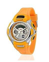 Yepme Mens Analog Digital Watch - Yellow