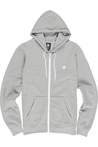 element-hoodies-element-nova-zip-hoody-grey-heather