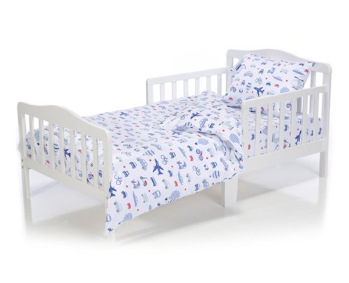 Cars Toddler Bedding Set front-213355