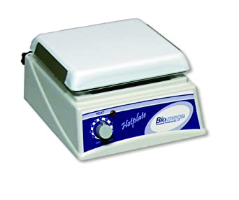 "Benchmark Scientific H4000-H Ceramic Top Hot Plate, 7.5"" x 7.5"" Platform, 9"" Length x 8"" Width x 4.5"" Height, 120V/60Hz"